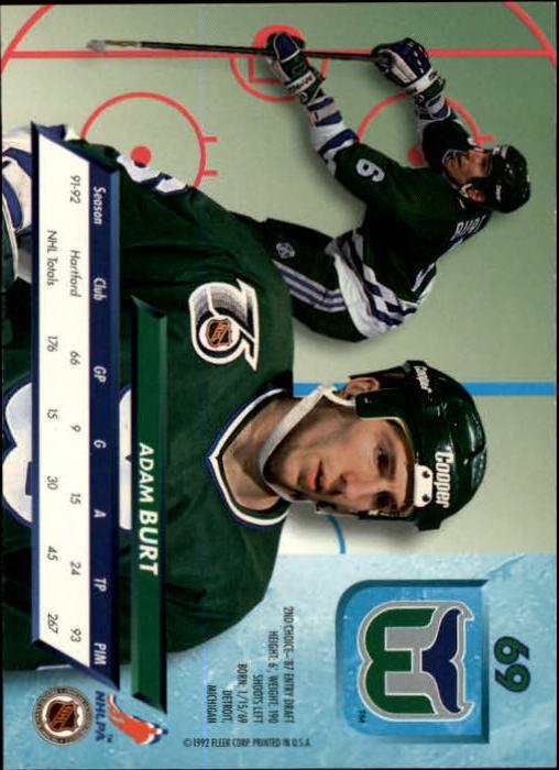 1992-93-Ultra-Hockey-1-250-Your-Choice-GOTBASEBALLCARDS thumbnail 137