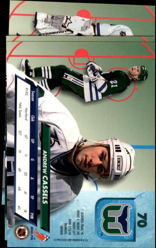 1992-93-Ultra-Hockey-1-250-Your-Choice-GOTBASEBALLCARDS thumbnail 139