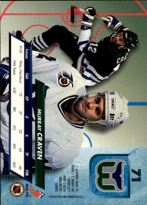1992-93-Ultra-Hockey-1-250-Your-Choice-GOTBASEBALLCARDS thumbnail 141