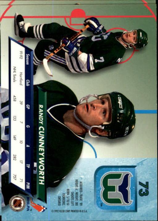 1992-93-Ultra-Hockey-1-250-Your-Choice-GOTBASEBALLCARDS thumbnail 145