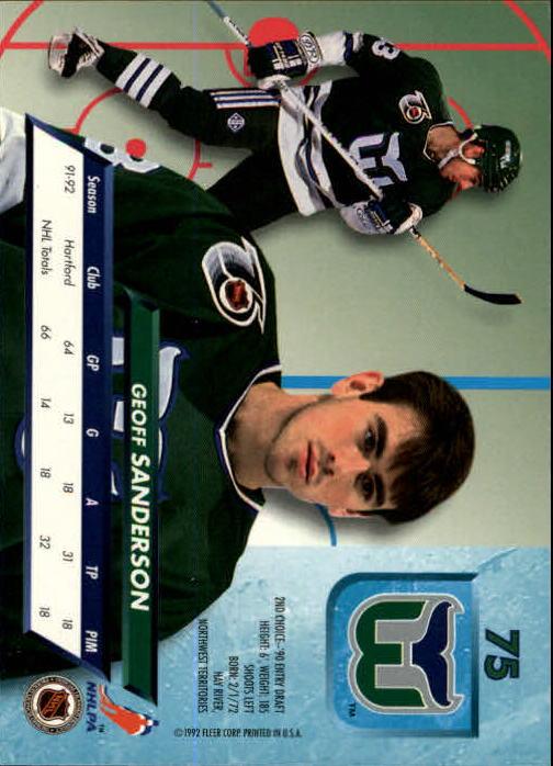 1992-93-Ultra-Hockey-1-250-Your-Choice-GOTBASEBALLCARDS thumbnail 149