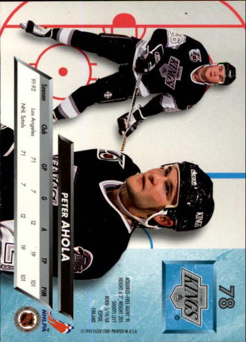 1992-93-Ultra-Hockey-1-250-Your-Choice-GOTBASEBALLCARDS thumbnail 155