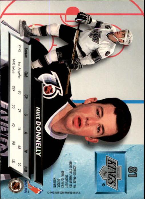 1992-93-Ultra-Hockey-1-250-Your-Choice-GOTBASEBALLCARDS thumbnail 161