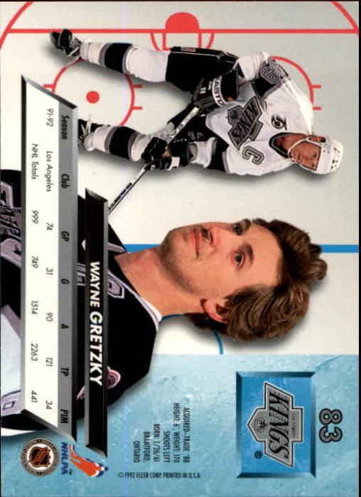 1992-93-Ultra-Hockey-1-250-Your-Choice-GOTBASEBALLCARDS thumbnail 165