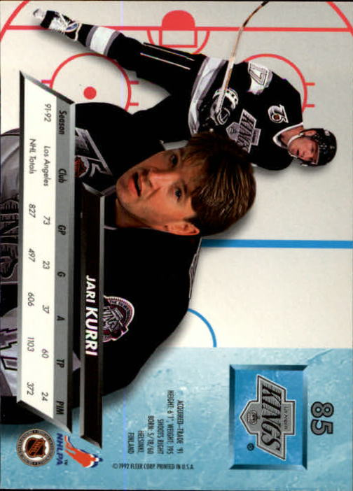 1992-93-Ultra-Hockey-1-250-Your-Choice-GOTBASEBALLCARDS thumbnail 169