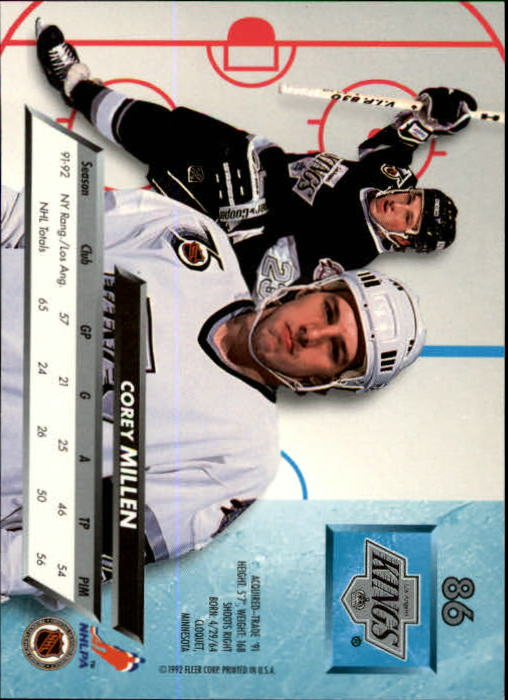1992-93-Ultra-Hockey-1-250-Your-Choice-GOTBASEBALLCARDS thumbnail 171