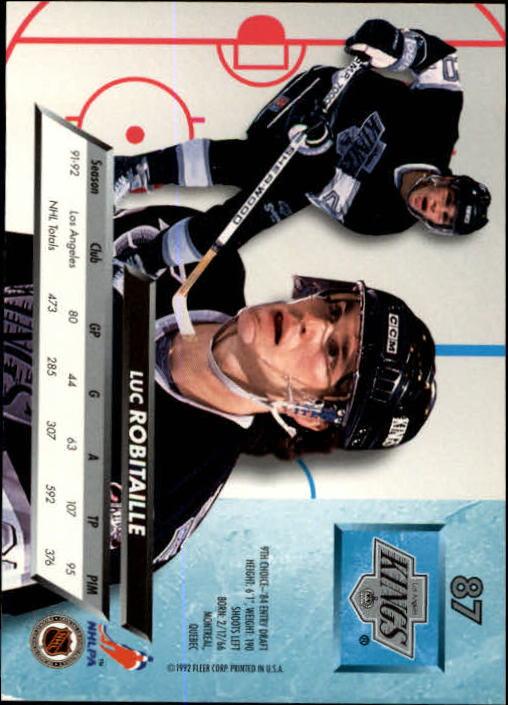 1992-93-Ultra-Hockey-1-250-Your-Choice-GOTBASEBALLCARDS thumbnail 173