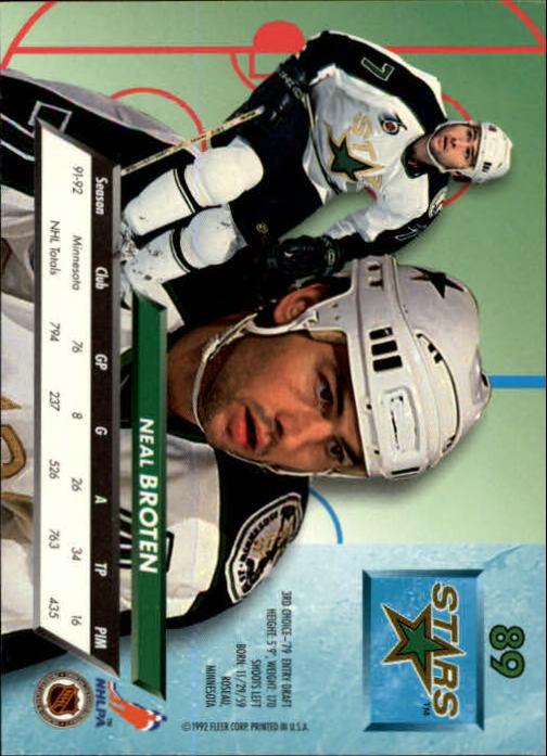 1992-93-Ultra-Hockey-1-250-Your-Choice-GOTBASEBALLCARDS thumbnail 177