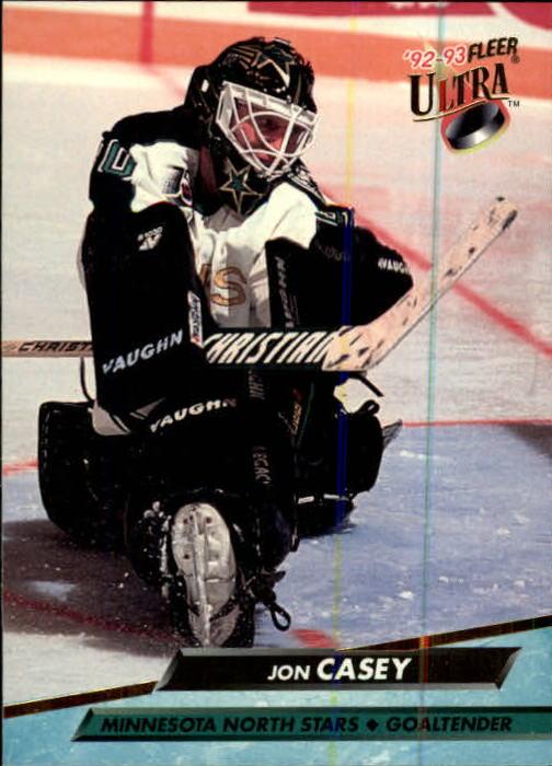 1992-93 Ultra #90 Jon Casey