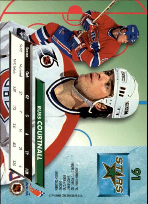 1992-93-Ultra-Hockey-1-250-Your-Choice-GOTBASEBALLCARDS thumbnail 181