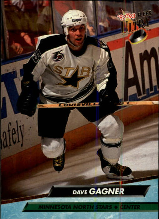 1992-93 Ultra #94 Dave Gagner