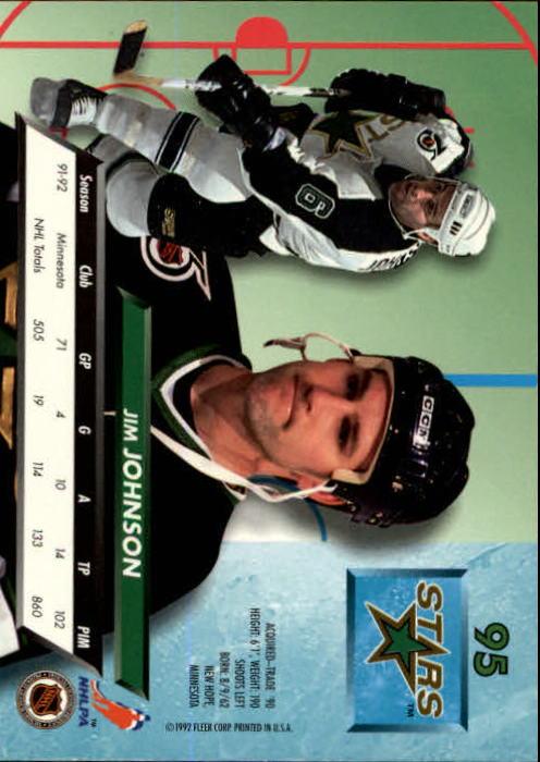 1992-93-Ultra-Hockey-1-250-Your-Choice-GOTBASEBALLCARDS thumbnail 189