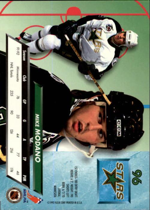 1992-93-Ultra-Hockey-1-250-Your-Choice-GOTBASEBALLCARDS thumbnail 191