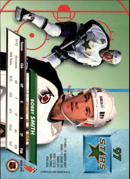1992-93-Ultra-Hockey-1-250-Your-Choice-GOTBASEBALLCARDS thumbnail 193