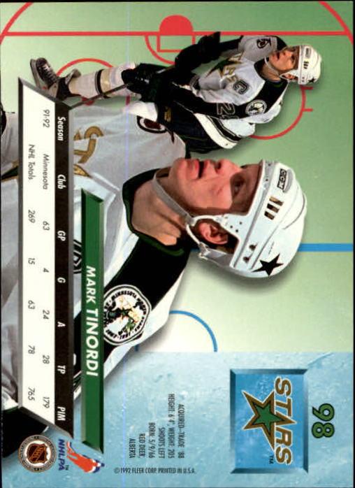 1992-93-Ultra-Hockey-1-250-Your-Choice-GOTBASEBALLCARDS thumbnail 195