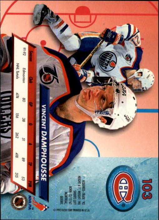 1992-93-Ultra-Hockey-1-250-Your-Choice-GOTBASEBALLCARDS thumbnail 205