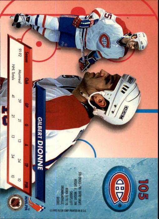 1992-93-Ultra-Hockey-1-250-Your-Choice-GOTBASEBALLCARDS thumbnail 209