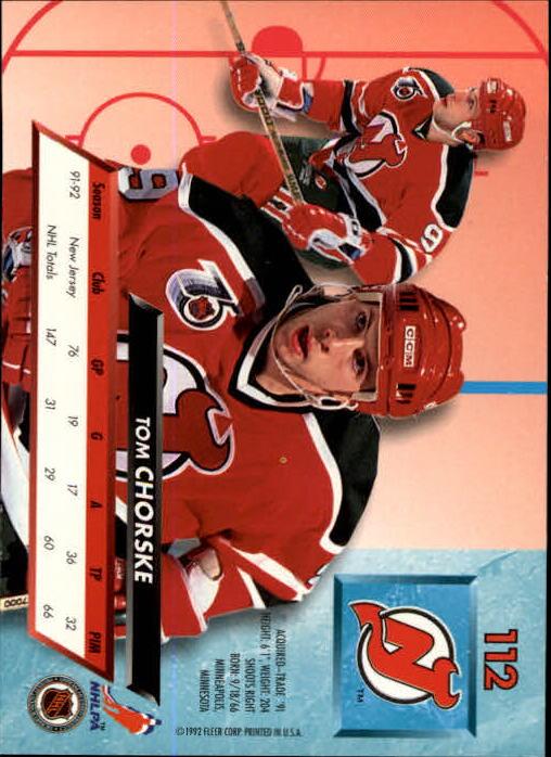 1992-93-Ultra-Hockey-1-250-Your-Choice-GOTBASEBALLCARDS thumbnail 223