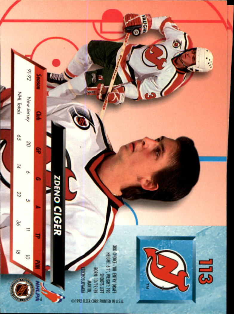 1992-93-Ultra-Hockey-1-250-Your-Choice-GOTBASEBALLCARDS thumbnail 225