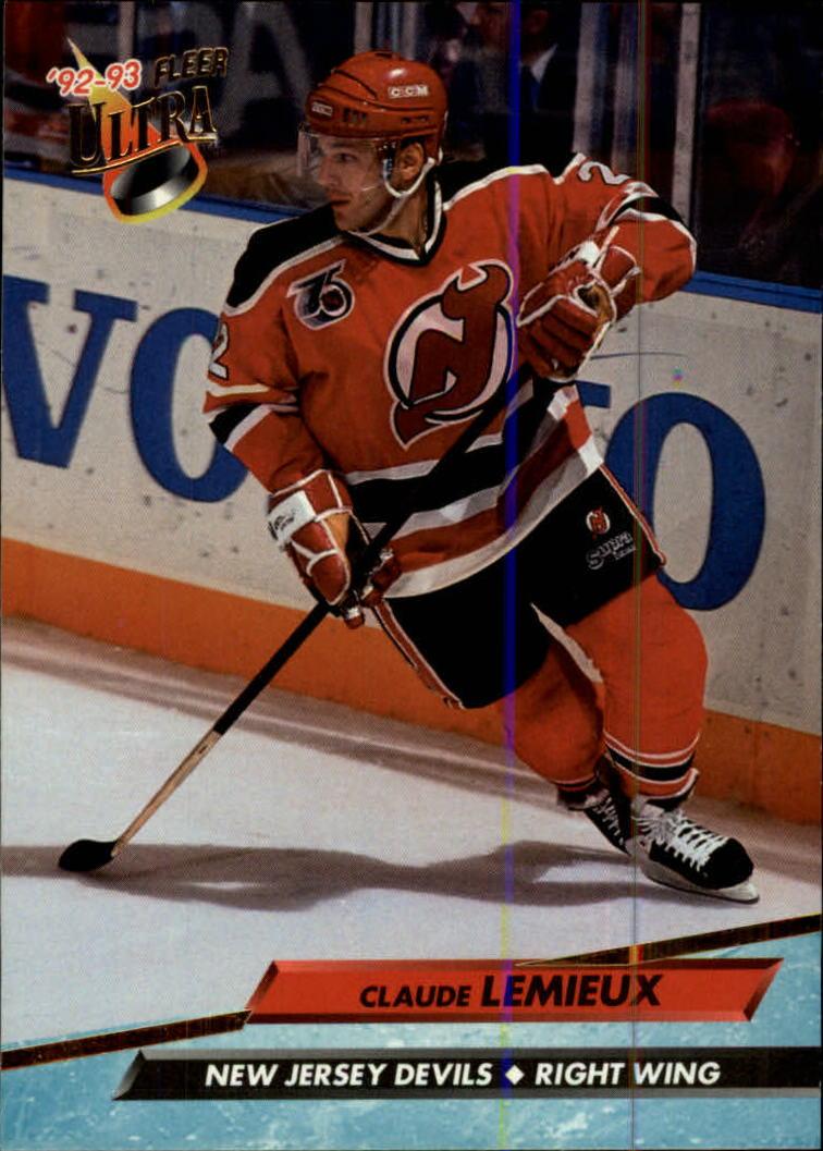 1992-93 Ultra #114 Claude Lemieux
