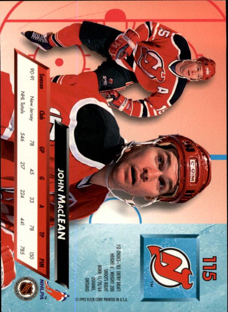1992-93-Ultra-Hockey-1-250-Your-Choice-GOTBASEBALLCARDS thumbnail 229