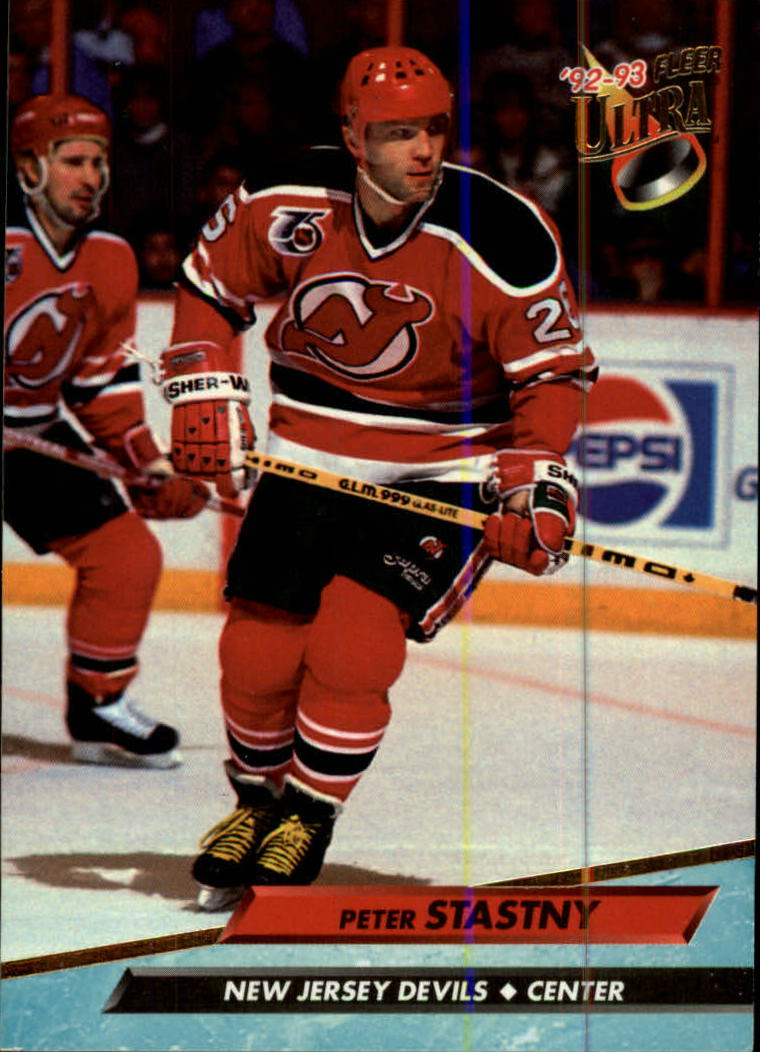 1992-93 Ultra #118 Peter Stastny