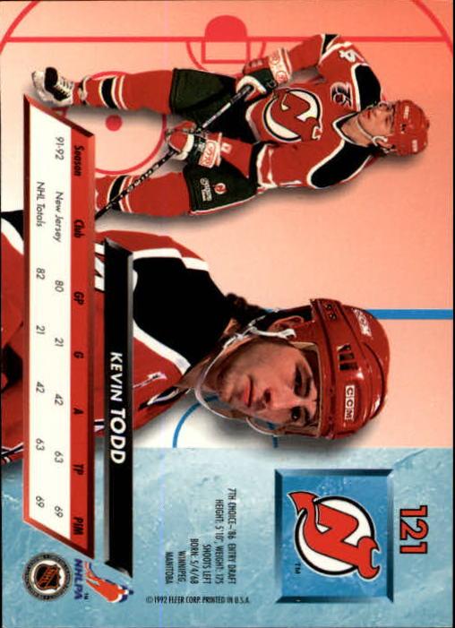 1992-93-Ultra-Hockey-1-250-Your-Choice-GOTBASEBALLCARDS thumbnail 241