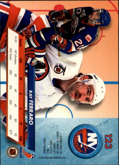 1992-93-Ultra-Hockey-1-250-Your-Choice-GOTBASEBALLCARDS thumbnail 245