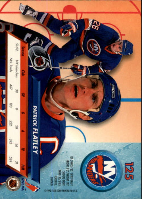 1992-93-Ultra-Hockey-1-250-Your-Choice-GOTBASEBALLCARDS thumbnail 249