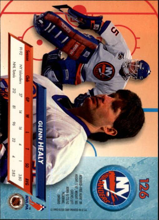 1992-93-Ultra-Hockey-1-250-Your-Choice-GOTBASEBALLCARDS thumbnail 251