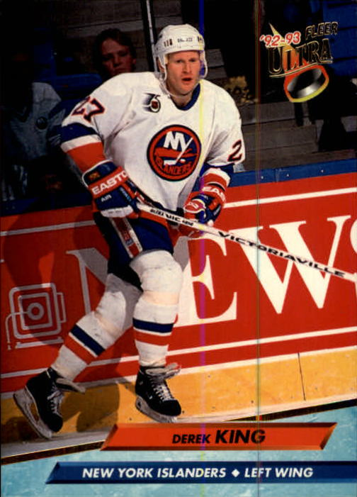 1992-93 Ultra #128 Derek King