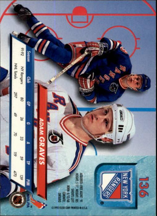 1992-93-Ultra-Hockey-1-250-Your-Choice-GOTBASEBALLCARDS thumbnail 271