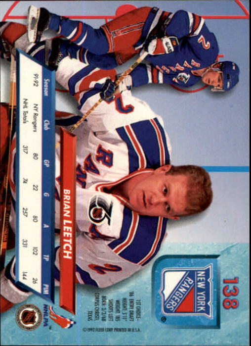 1992-93-Ultra-Hockey-1-250-Your-Choice-GOTBASEBALLCARDS thumbnail 273