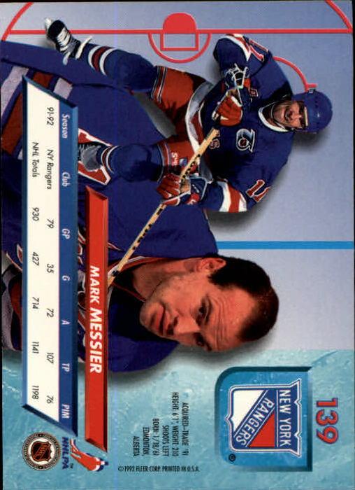 1992-93-Ultra-Hockey-1-250-Your-Choice-GOTBASEBALLCARDS thumbnail 275