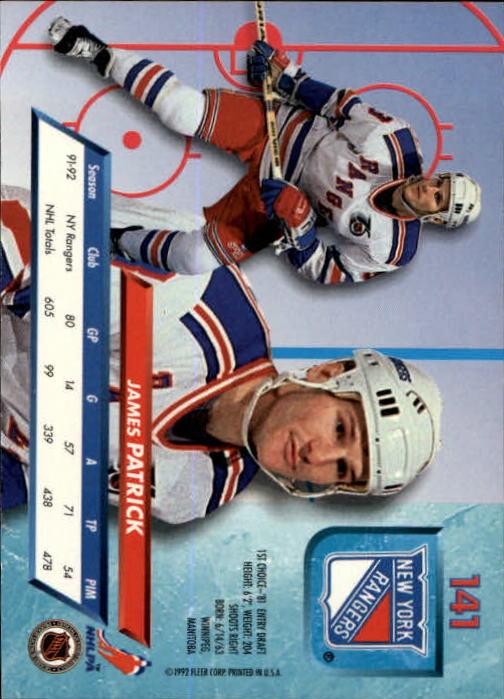 1992-93-Ultra-Hockey-1-250-Your-Choice-GOTBASEBALLCARDS thumbnail 279