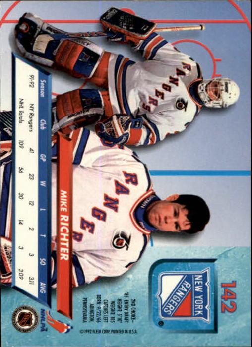 1992-93-Ultra-Hockey-1-250-Your-Choice-GOTBASEBALLCARDS thumbnail 281