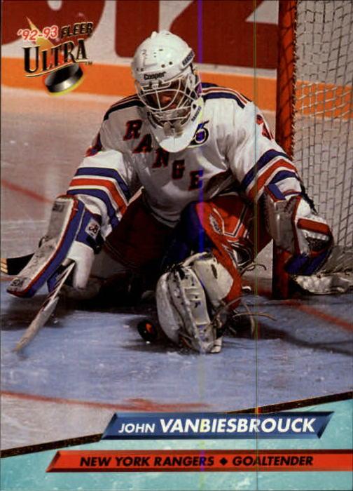 1992-93 Ultra #144 John Vanbiesbrouck