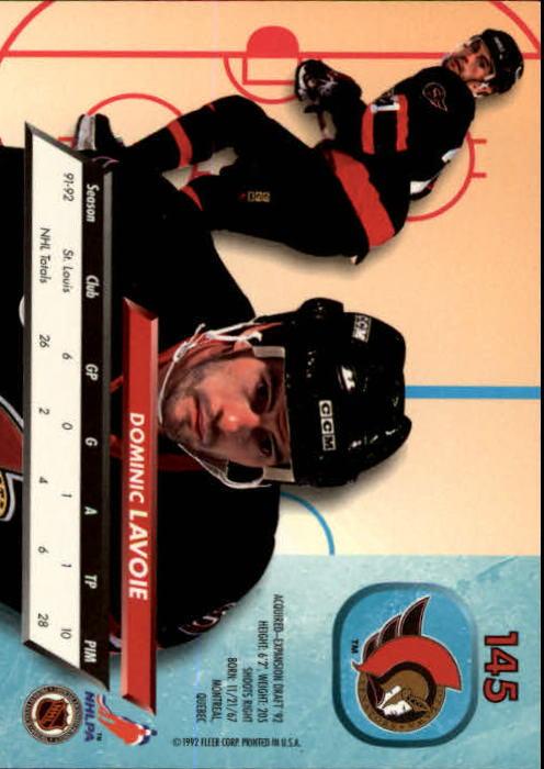 1992-93-Ultra-Hockey-1-250-Your-Choice-GOTBASEBALLCARDS thumbnail 287