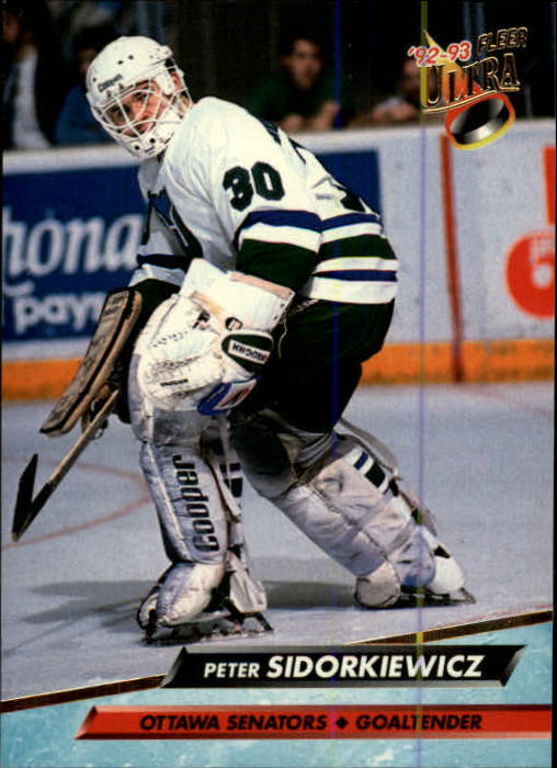 1992-93 Ultra #150 Peter Sidorkiewicz