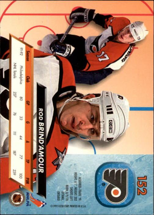 1992-93-Ultra-Hockey-1-250-Your-Choice-GOTBASEBALLCARDS thumbnail 301
