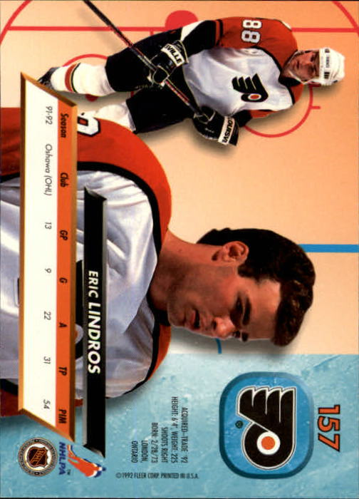 1992-93-Ultra-Hockey-1-250-Your-Choice-GOTBASEBALLCARDS thumbnail 311