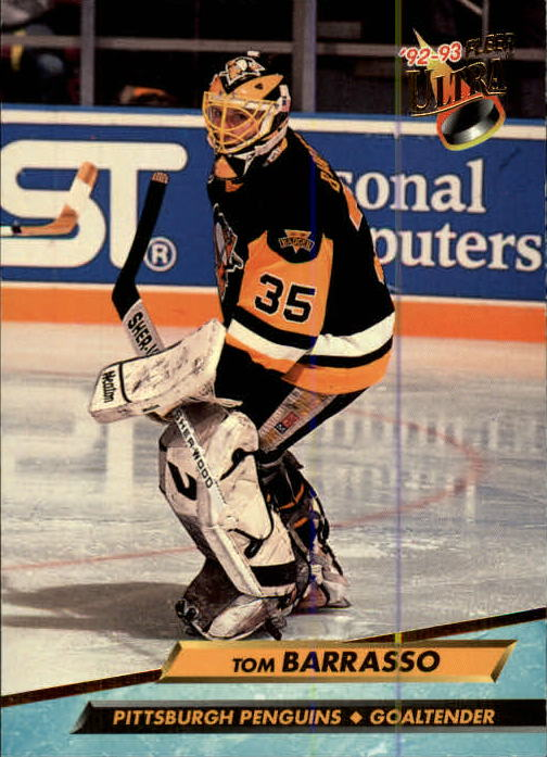 1992-93 Ultra #162 Tom Barrasso