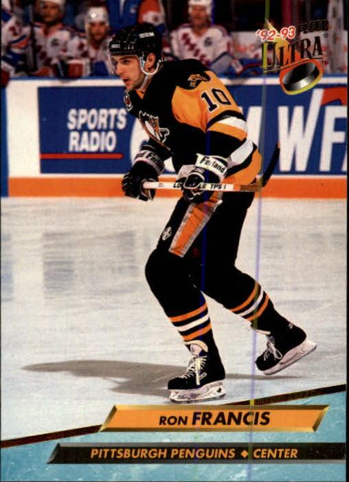 1992-93 Ultra #163 Ron Francis