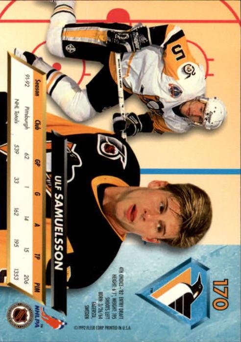 1992-93-Ultra-Hockey-1-250-Your-Choice-GOTBASEBALLCARDS thumbnail 337