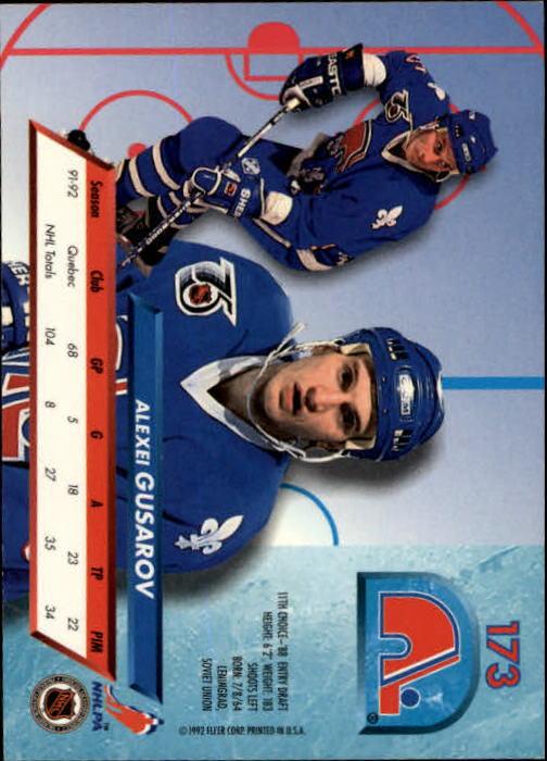 1992-93-Ultra-Hockey-1-250-Your-Choice-GOTBASEBALLCARDS thumbnail 343