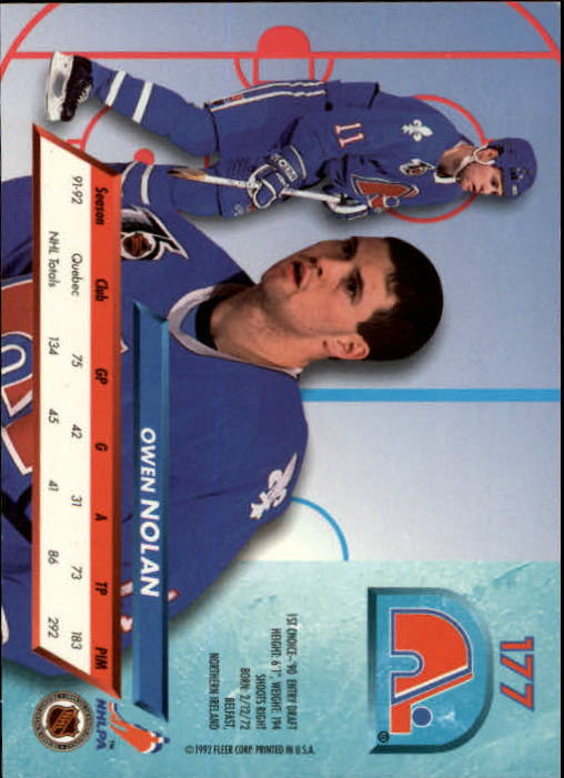 1992-93-Ultra-Hockey-1-250-Your-Choice-GOTBASEBALLCARDS thumbnail 351