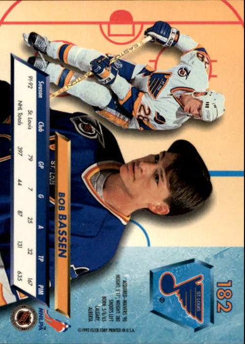 1992-93-Ultra-Hockey-1-250-Your-Choice-GOTBASEBALLCARDS thumbnail 361