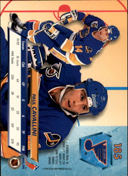 1992-93-Ultra-Hockey-1-250-Your-Choice-GOTBASEBALLCARDS thumbnail 367