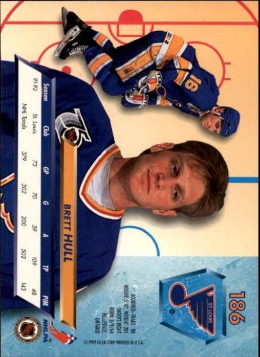1992-93-Ultra-Hockey-1-250-Your-Choice-GOTBASEBALLCARDS thumbnail 369