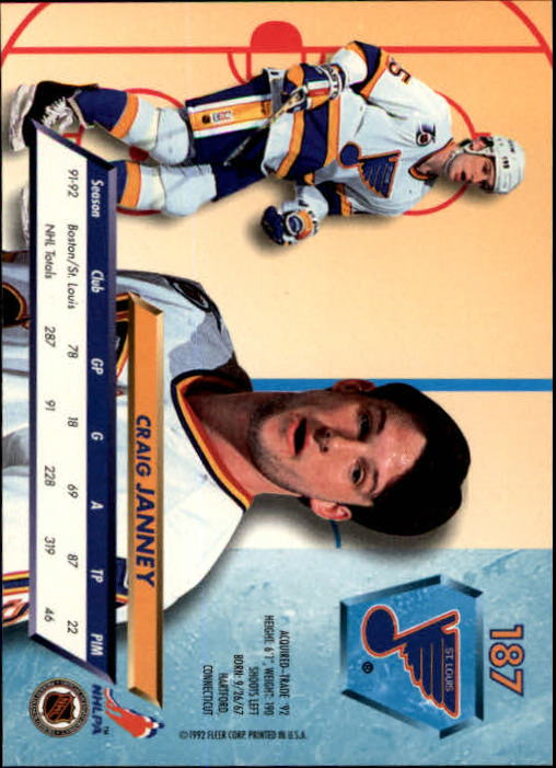 1992-93-Ultra-Hockey-1-250-Your-Choice-GOTBASEBALLCARDS thumbnail 371